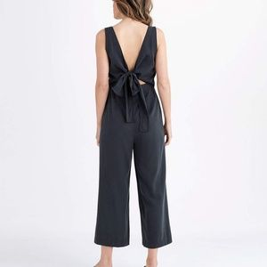 60ff119cff42 Vetta Pants - Vetta Capsule Black Apron Jumpsuit